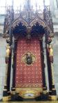 Амьен. Собор, кусочек Главы Иоанна Крестителя