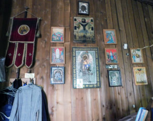 Церковь Серафима Саровского в Париже. Иконы из дома матери Марии (Скобцовой)