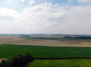 Ватерлоо - вид на поле сражения