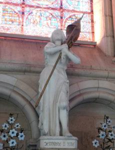 Кафедральный собор Лана. Жанна д'Арк