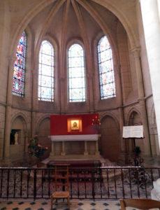 Кафедральный собор Лана. Древний образ, привезенный из Сербии