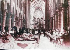 Кафедральный собор Лана во время Второй мировой войны