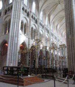 Кафедральный собор Лана. Алтарные ворота