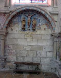 Кафедральный собор Лана. Древние фрески