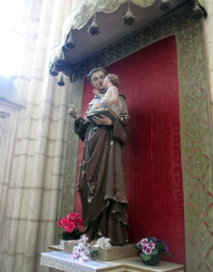 Кафедральный собор Лана. Часовня Святого Антония