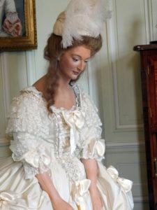 Замок Бретей. Восковая фигура королевы Марии-Антуанетты