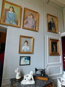 Замок Бретей. Портреты детей семьи Бретей