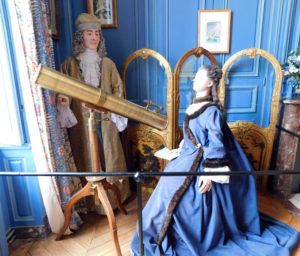 Замок Бретей. Комната Габриэль Эмилии де Бретей.