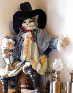 кот в сапогах в замке Бретей