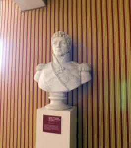 бюст маршала Бертье в замке Шамбор
