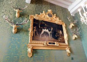 Охотничий зал в замке Шамбор