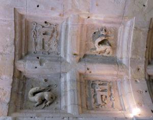 потолок в замке Шамбор