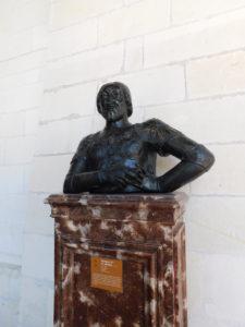 бюст Франциска Первого в замке Шамбор