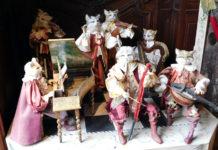 коты музыканты в замке Бретей