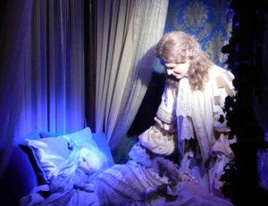 Спящая красавица в замке Бретей