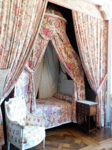 спальня в замке Шамбор
